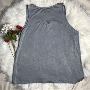 Knox Rose Tops - 📌NWT Knox Rose 🌹 Gray Sleeveless Lace Trim Tank